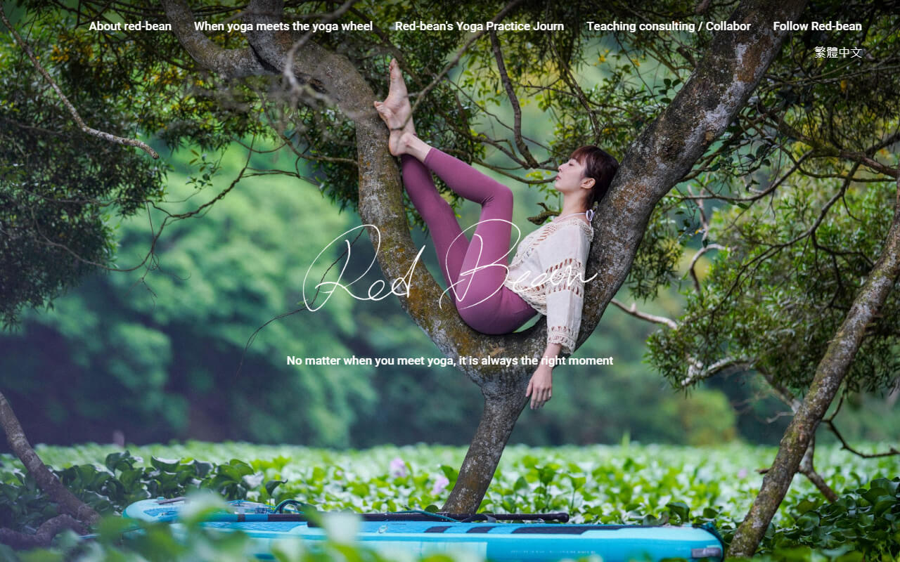 Red-bean|Yoga Life -  No matter when you meet yoga, it is always the right moment