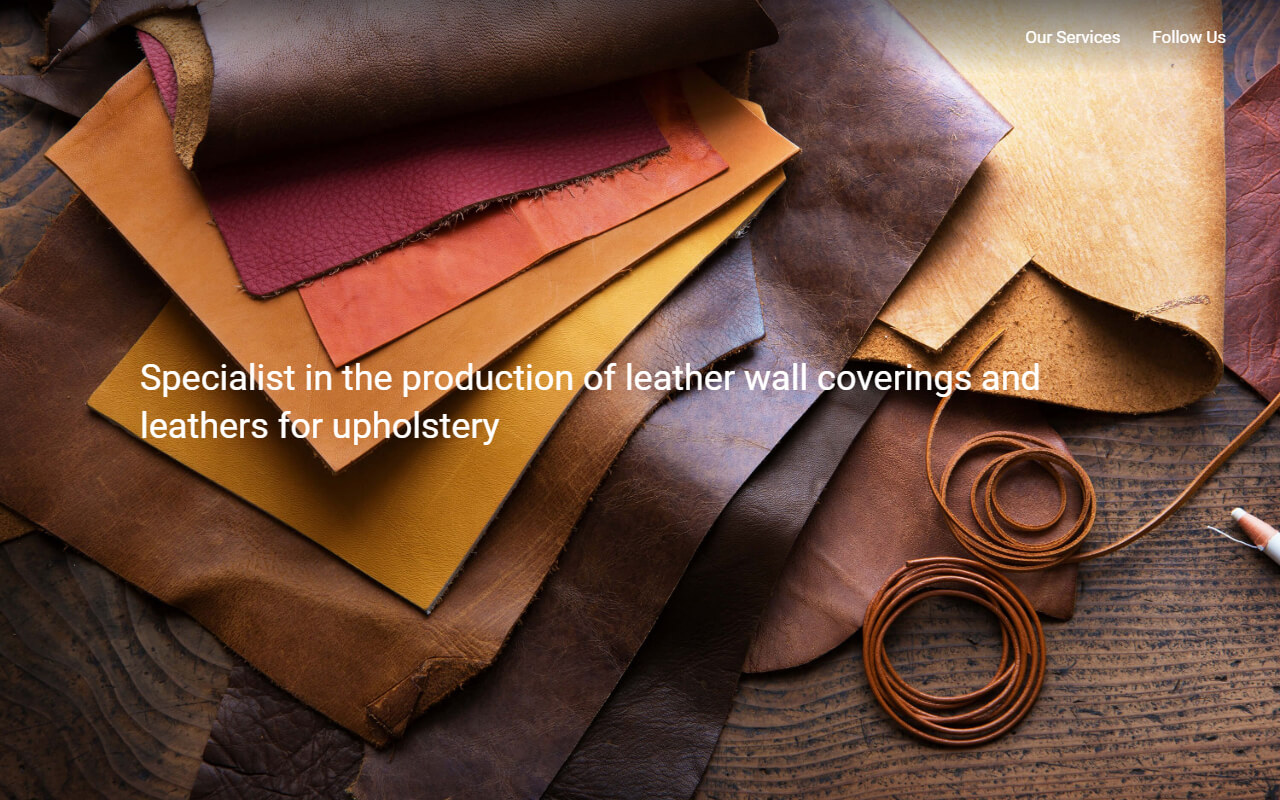 Leathers and wall coverings for interior design | Leathers Art