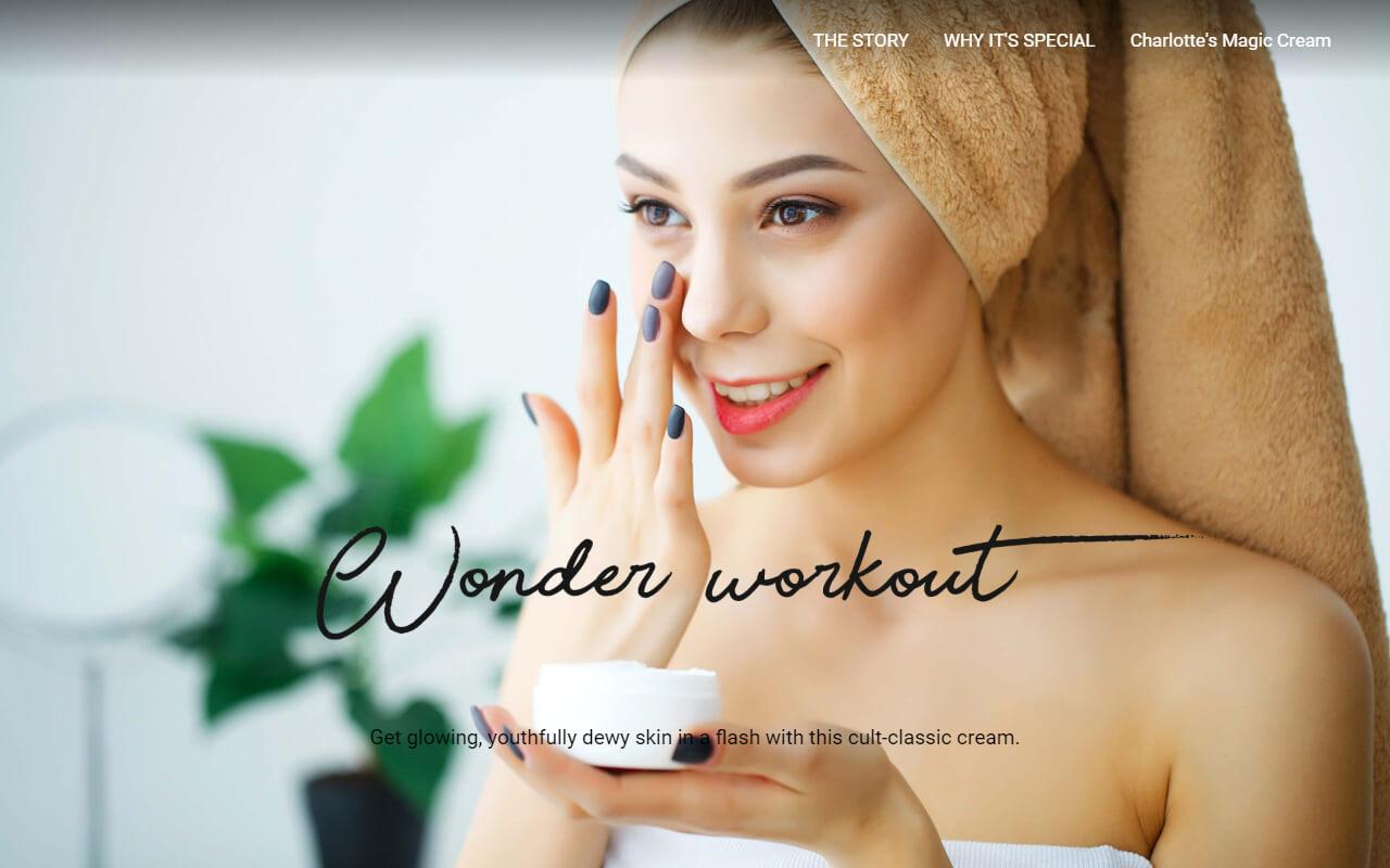 Charlotte's magic cream | Wonder Workout